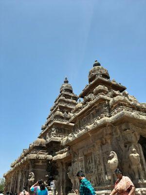 The Seven pagodas: mahabalipuram