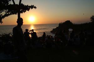 Tanah lot Temple (Bali island )