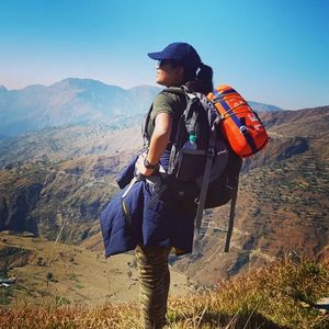 Garhwal Himalayas are a different kind of beauty. Jaunpur region / Nag Tibba Trek.