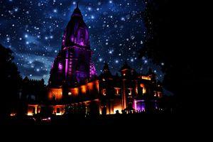 The new Kashi Vishwanath temple. Varanasi