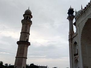 Historical monuments The Bibi ka Maqbara from my click dakhaan ka taj Aurangabad Maharashtra