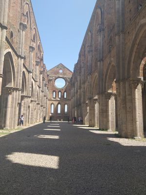 Magical Abbey without a roof...one of the popular wedding destinations in Italy!!