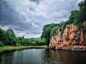 Serene water side