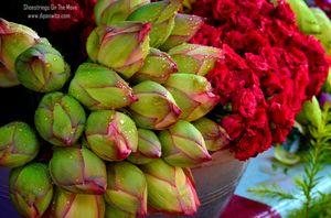 Mallik Ghat Flower Market- A Riot Of Colors Under Howrah Bridge