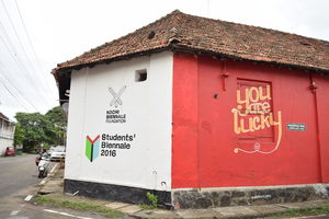 Kochi, the town where walls have voices #kerala #streettalk