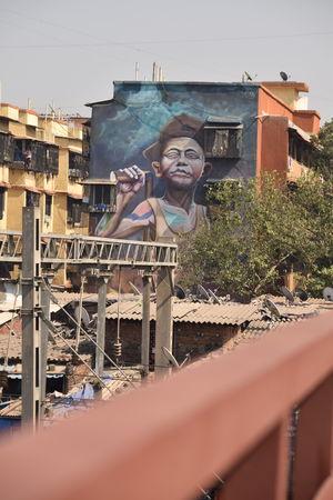 Mumbai's Mahim (East) Art District - where art celebrates a commoner #streettalk