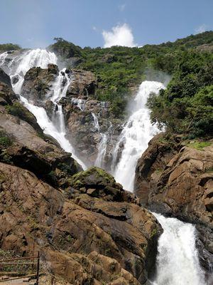 Reaching Doodh Sagar Waterfalls from Hubli/Dharwad/Belgaum