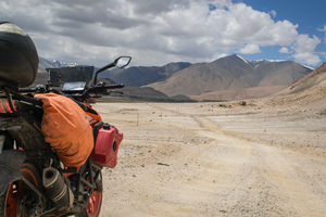 Witnessing Heaven on Earth: Motorcycle Ride to Ladakh   Semi-Solo   Duke 390