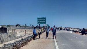 Dhanushkodi - At the end of mainland