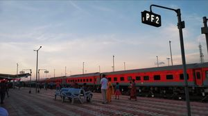 One of the best managed railway stations in India: Agartala Railway Station.