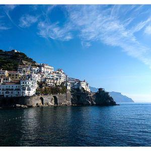 Beautiful morning at Amalfi on the southern coast of Italy