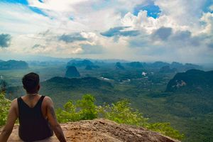 Hike to the top of the world
