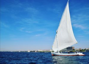 Felucca ride in Nile river