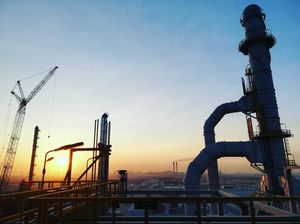Biggest Crude Refinery in Middle East