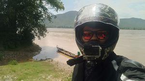 Beautiful #SelfieWithAView at the Satkosia Gorge #TripotoCommunity #Motovlogging #Youtube