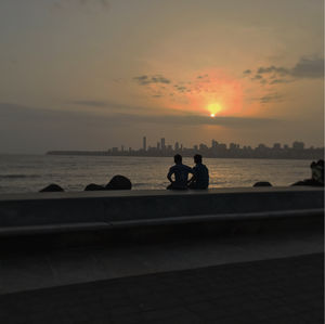 Finding peace at Marine lines