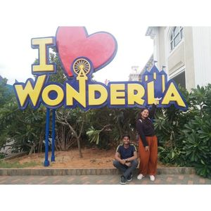 Trip to wonderla amusement park