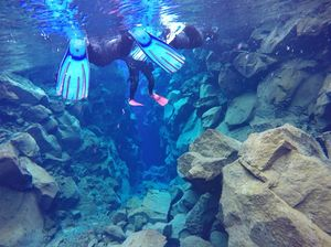 Snorkeling between Europe and America in Iceland's Silfra fissure | Map and Magnets
