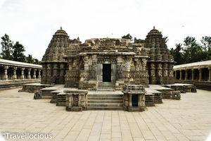 The best of the Hoysala Architecture - The Somnathapura temple! @tripototravelcommunity