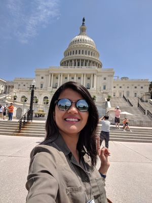 Uniteted States Capitol  #SelfieWithaView  #TripotoCommunity