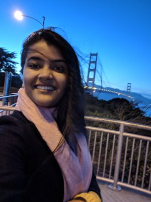 Golden Gate Bridge ???? #SelfieWithAView  #TripotoCommunity