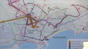 City of human towers Tarragona