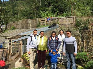 Family Vacation at TIEEDI, Darjeeling