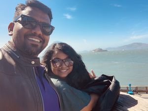 View from Pier 39 - San Francisco! #SelfieWithAView #TripotoCommunity