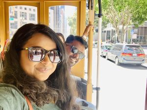 San Francisco Cable Car!  #SelfieWithAView #TripotoCommunity