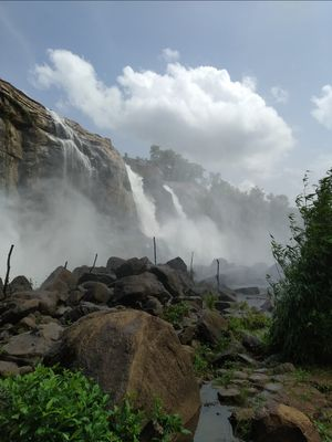 Solo trip to Athiralpally falls from Kochi