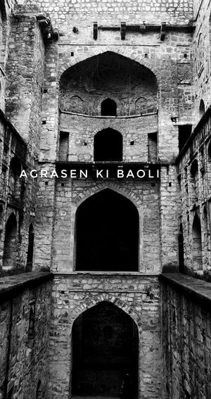 "उग्र with ""Agrasen ki Baoli"""