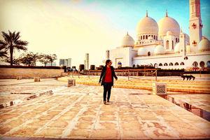 Photos From Grand mosque, Abu Dhabi - Eid Mubaraq