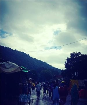 Chitrakoot dham - uttarpradesh own monsoon destination, coverd with raw mountains and temples
