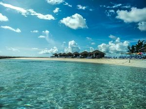Silent and peaceful Island in The Bahamas