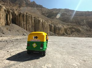 GETTING SPITI IN TUK-TUK