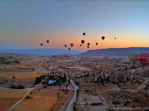 Cappadocia Hot Air Balloon: Up above the world so high!