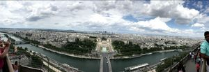 View from eiffel tower!