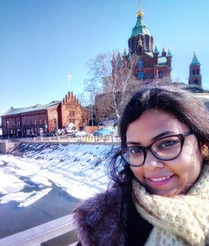 Wither away Winters, making way for Summers @Uspenski Cathedral #SelfieWithAView #TripotoCommunity