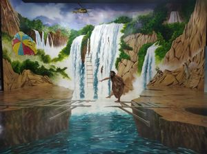 Experience the Interactive 3D paintings