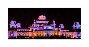 Diwali night,Albert Hall jaipur