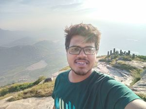 Best view comes after the hardest climb #SelfieWithAView #TripotoCommunity