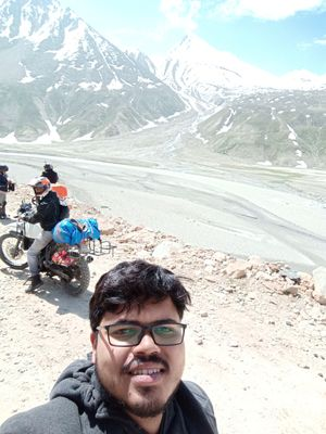 Himalayas are calling #SelfieWithAView #TripotoCommunity