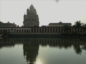 Reflection Of Dakhineshwar Temple