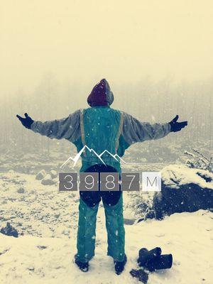 Mist..Snow..Peace..GULABA