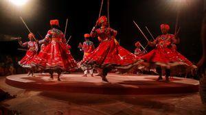 Gher dance, Rajasthan.
