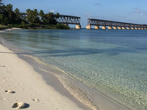 Beach Or A Pool- Bahia Honda State park, Usa