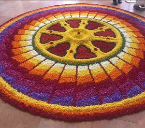 'ONAM' - Harvest festival of Kerala and Annual homecoming of King Mahabali...