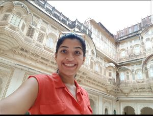 Mehrangarh in all its glory! #SelfieWithAView #TripotoCommunity #IncredibleIndia