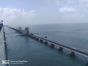 Pamban Bridge-India's 1st sea bridge