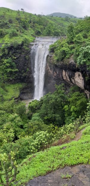 Kokankada-Ghatghar Lower dam view Point